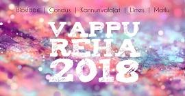 Vappureha 2018 kansikuva pixlr